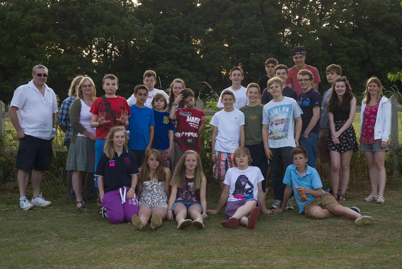 Barns Green Club Youth Club 2013